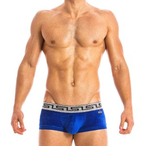 GREEK LUX BOXER BLUE