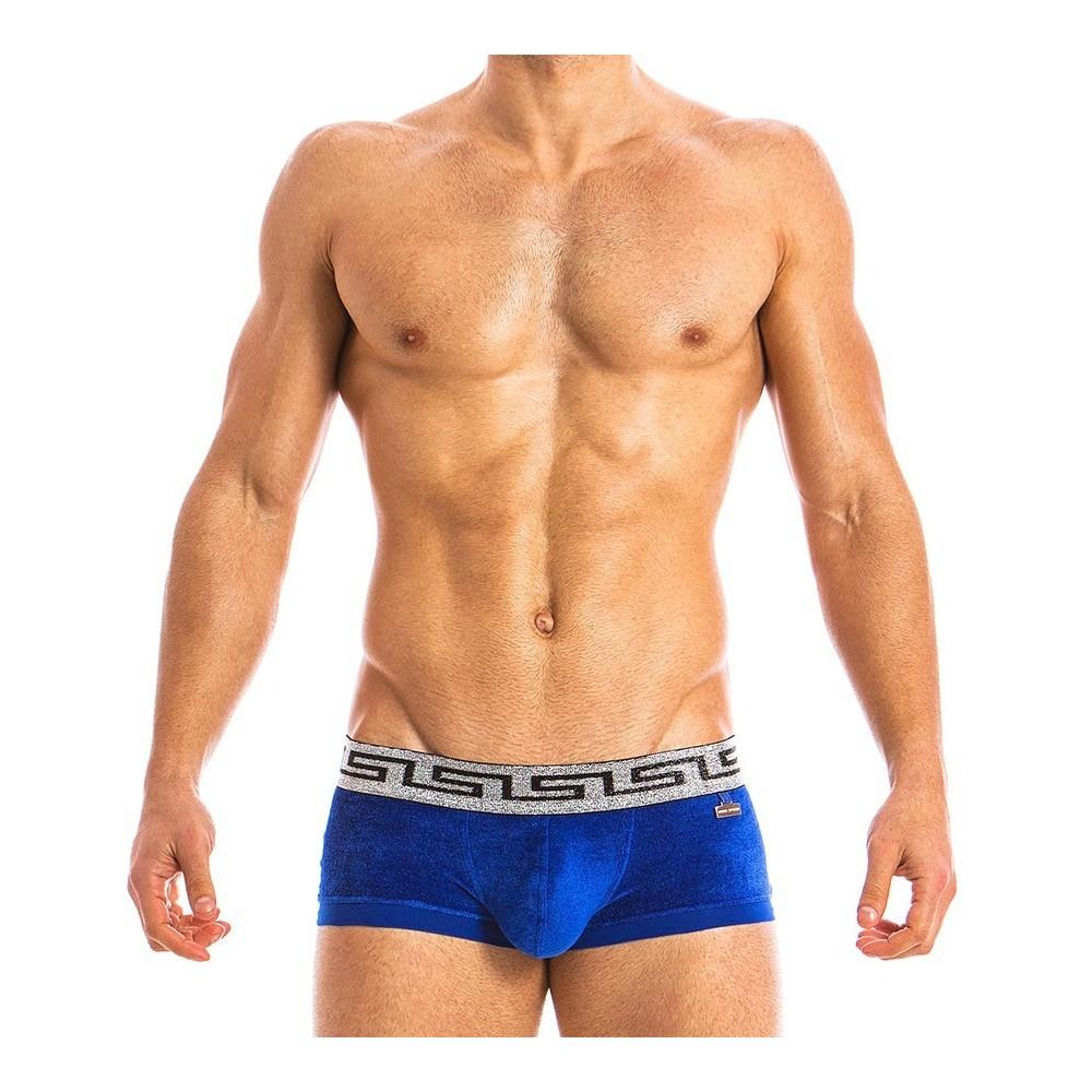 GREEK LUX BOXER BLUE