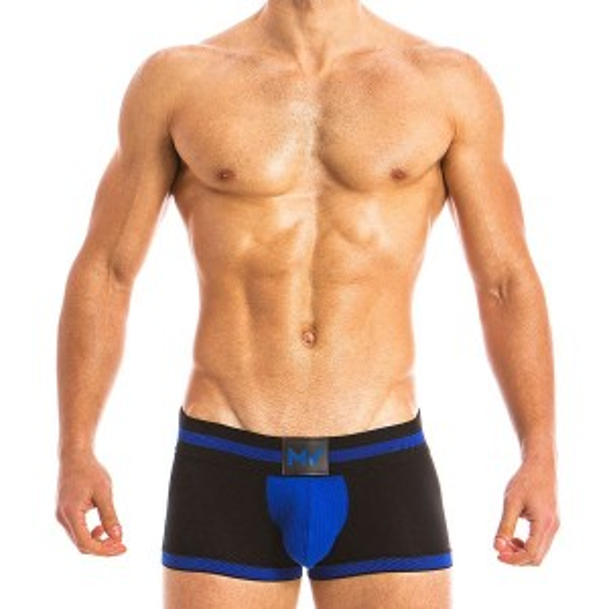 MEN'S BOTTOMLESS BOXER BLUE 16821_blue