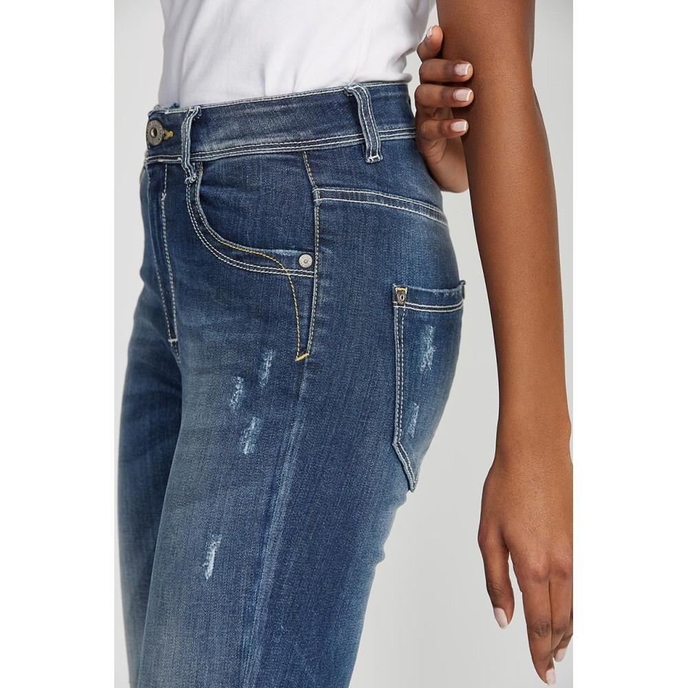 aa86d86197c Γυναικεία Τζίν Παντελόνια Γυναικεία ρούχα  Τζιν παντελόνι super slim,  ψηλόμεσο Fashion.gr