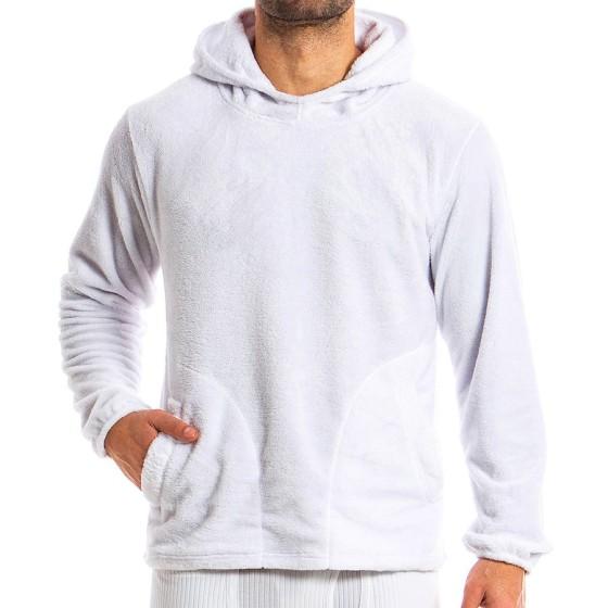 Ανδρικό hoodie λευκό