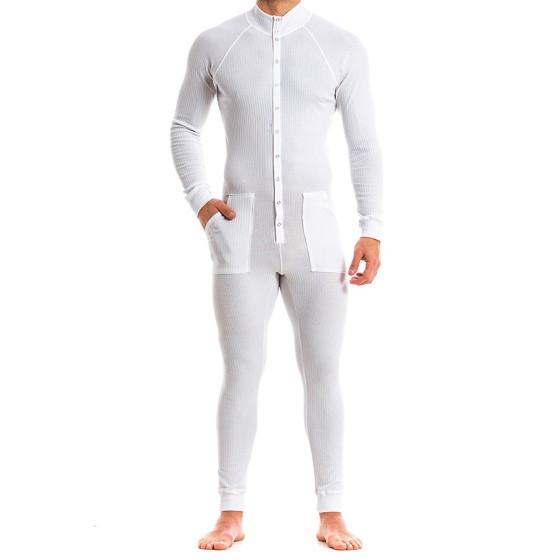 Ανδρική πιτζάμα λευκή