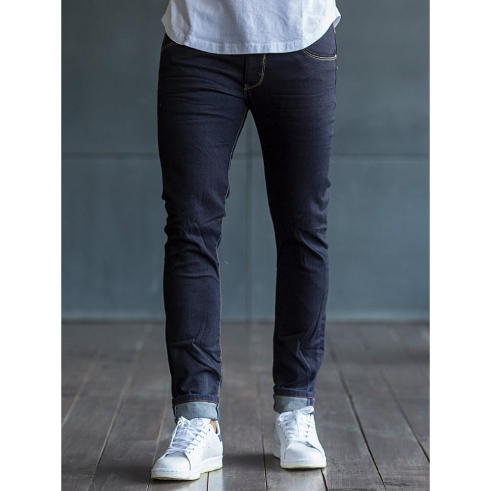 Ανδρικό jean μπλε σκούρο