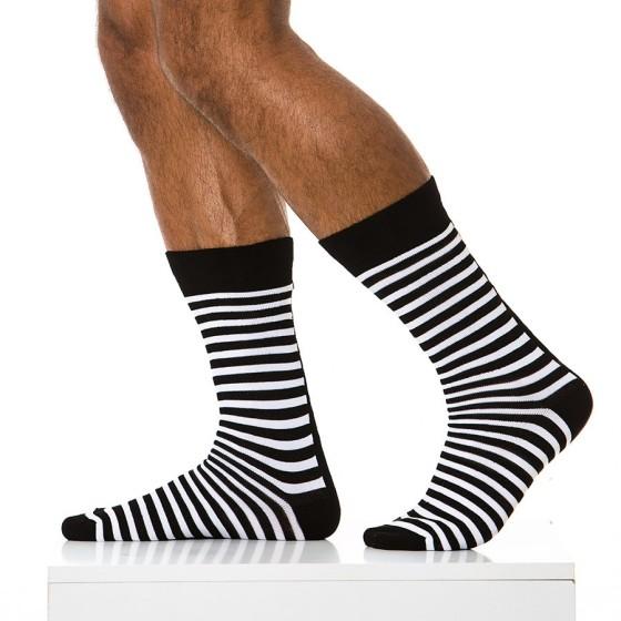 26826e6fd585 3 pack ανδρικές κάλτσες ριγέ μαύρες. Add to Wishlist