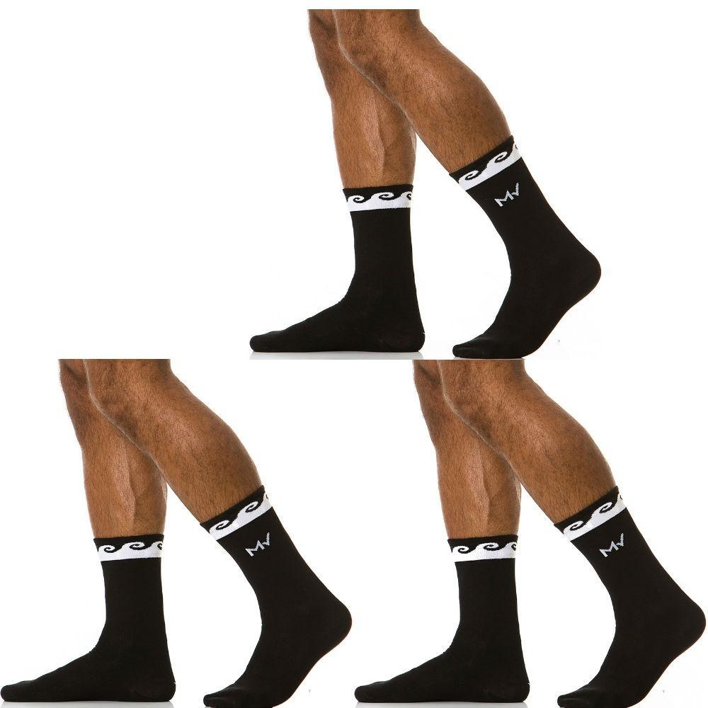 3 pack ανδρικές κάλτσες μαύρες
