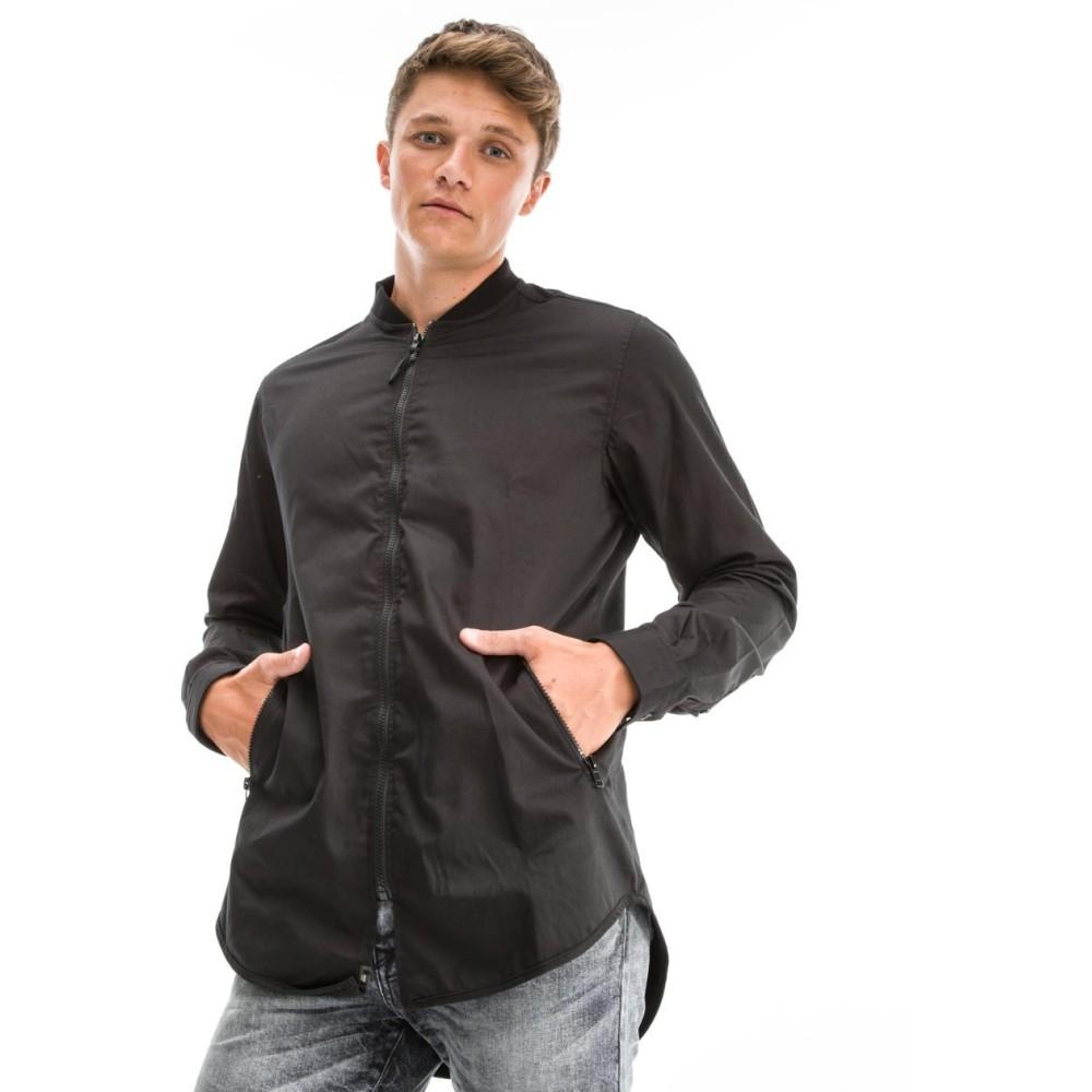 Ανδρικό Πουκάμισο ANSELMO-LIC Shirt Black