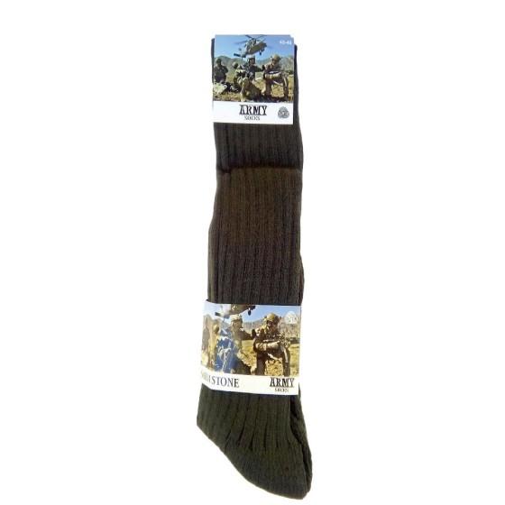 Στρατιωτικές ανδρικές κάλτσες χακί