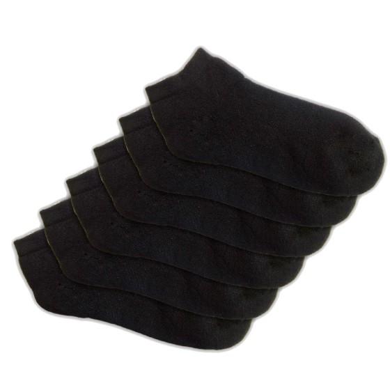 Πετσετέ αρωματικές ανδρικές κάλτσες κοφτές μαύρες