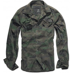 SLIMFIT SHIRT WOODLAND