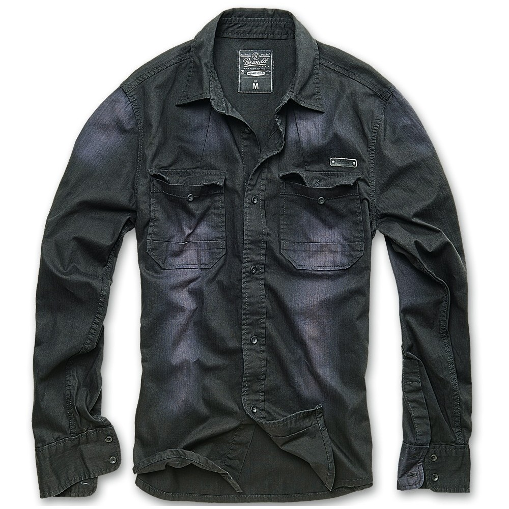 HARDEE JEANS SHIRT BLACK