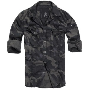 SLIMFIT SHIRT DARKCAMO