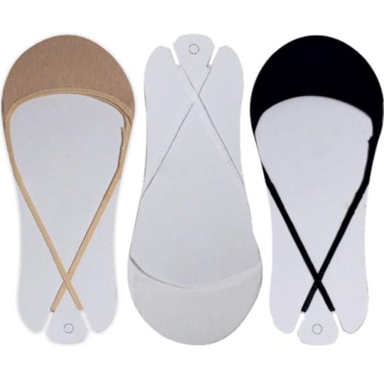 Γυναικείες αντιολισθητικές μικρές κάλτσες 3 pack