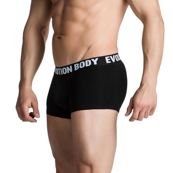 Αθλητικό Εσώρουχο Boxer Evolution Body Μαύρο 7002
