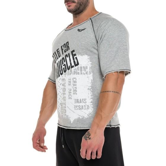 Κοντομάνικη Μπλούζα Evolution Body Γκρι 2241