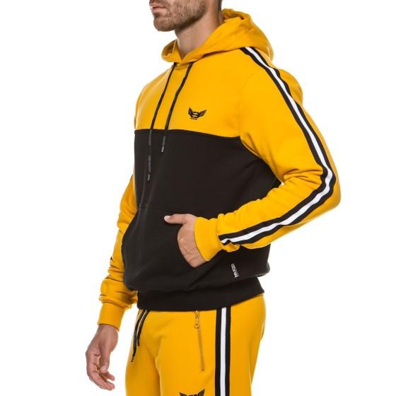 Hoodie Evolution Body Κίτρινη 2178