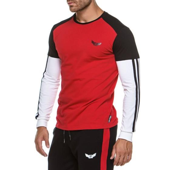 Μακρυμάνικη Μπλούζα Evolution Body Κόκκινη 2176