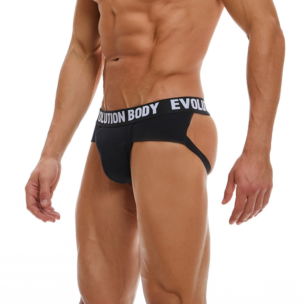 Briefstrap Εσώρουχο Evolution Body Μαύρο 7011