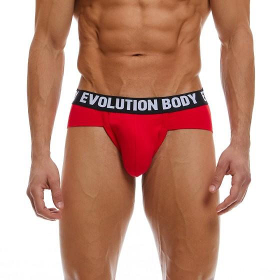 Briefstrap Εσώρουχο Evolution Body Κόκκινο 7012
