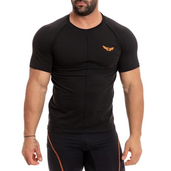 T-shirt Evolution Body Μαύρο 2266black