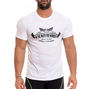 T-shirt Evolution Body Λευκό 2249white