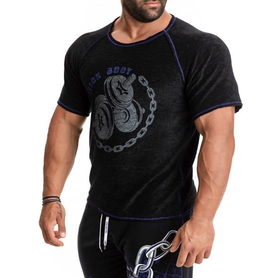 Κοντομάνικη μπλούζα Evolution Body Μαύρη 2275B