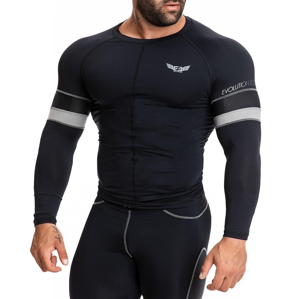 EVO-FIT Αθλητική Μπλούζα Evolution Body Μαύρη 2271B