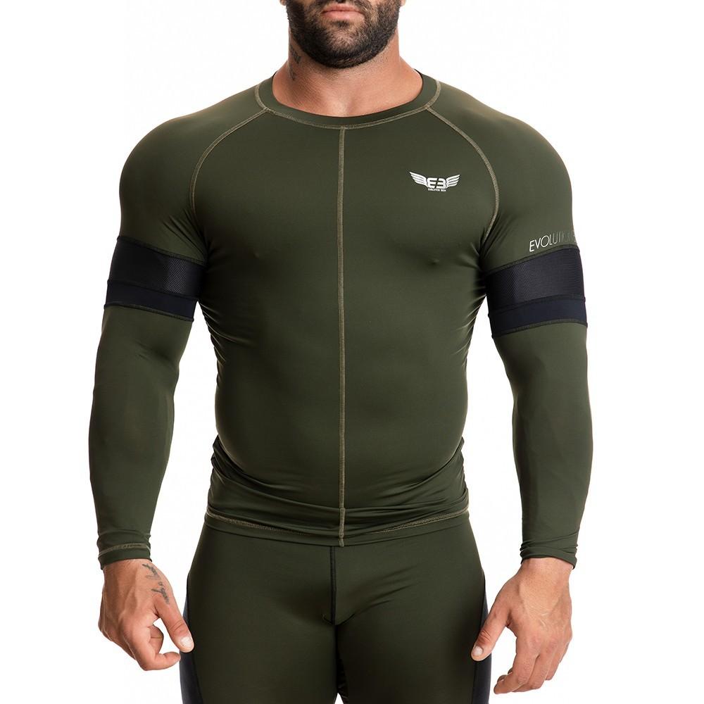 EVO-FIT Αθλητική Μπλούζα Evolution Body Χακί 2271KH