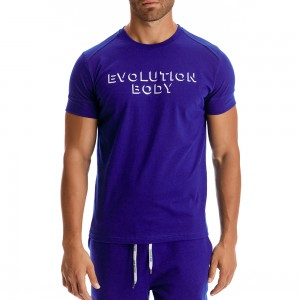 T-shirt Evolution Body Μπλε 2303KOV