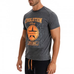 T-shirt Evolution Body Γκρι 2288G