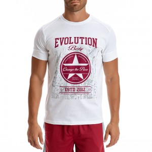 T-shirt Evolution Body Λευκό 2288W