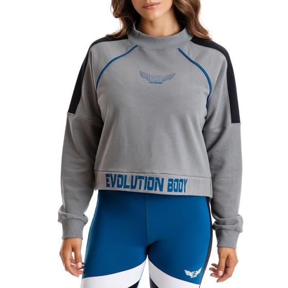 Μπλούζα Evolution Body Γκρι 2308G