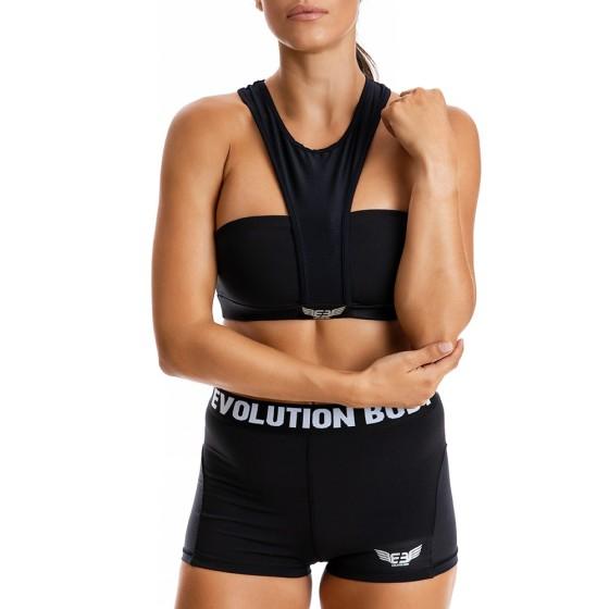 EVO-FIT Αθλητικό Μπουστάκι Evolution Body Μαύρο 2315B