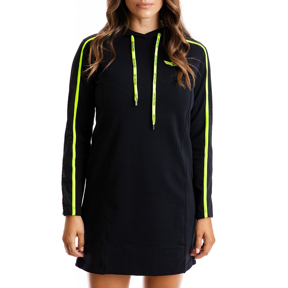 Αθλητικό Μίνι Φόρεμα Evolution Body Μαύρο 2327LI