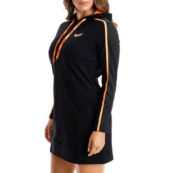 Αθλητικό Μίνι Φόρεμα Evolution Body Μαύρο 2327OR