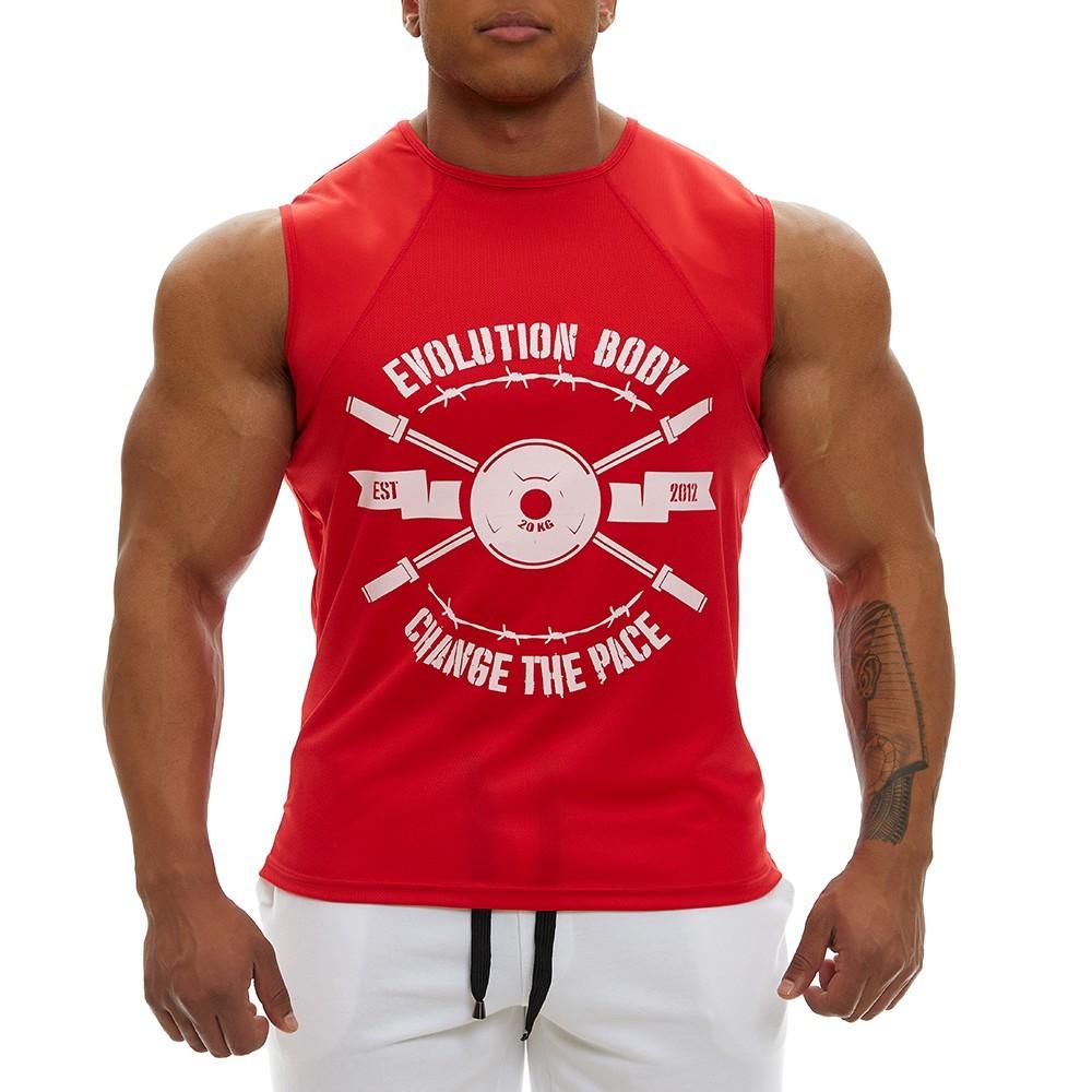 Αμάνικο Evolution Body Κόκκινο 2350RED