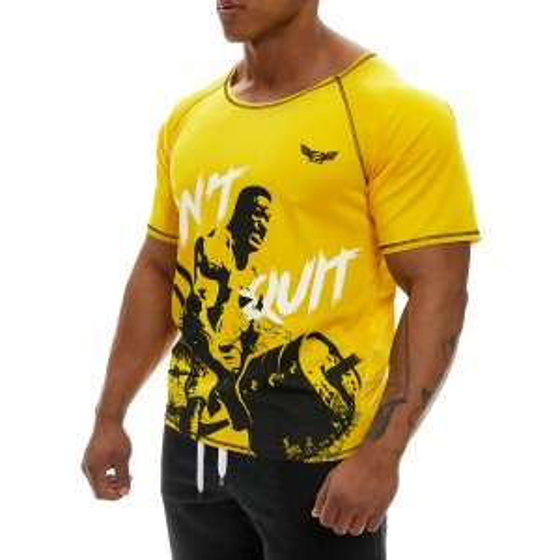 Κοντομάνικη μπλούζα Evolution Body Κίτρινη 2359YELLOW