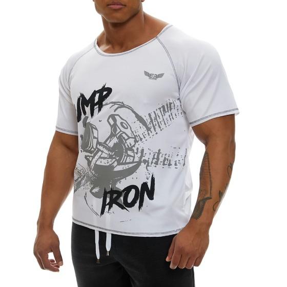 Κοντομάνικη μπλούζα Evolution Body Λευκή 2366WHITE