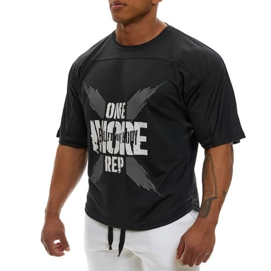 Κοντομάνικη μπλούζα Evolution Body Μαύρο 2354BL