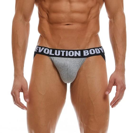 Jockstrap Εσώρουχο Evolution Body Γκρι 7023