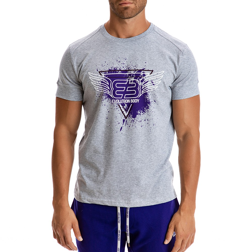 T-shirt Evolution Body Γκρι 2301