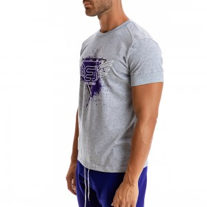 T-shirt Evolution Body Γκρι 2301
