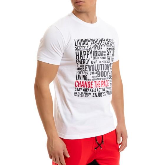 T-shirt Evolution Body Λευκό 2267white