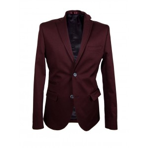 Cotton Slim Fit suit jacket