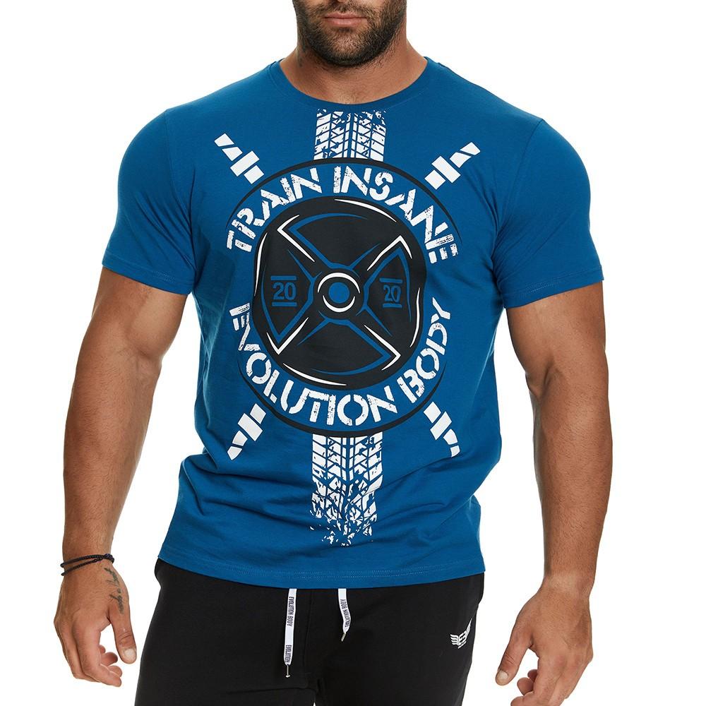 T-shirt Evolution Body Πετρόλ 2404PETROL