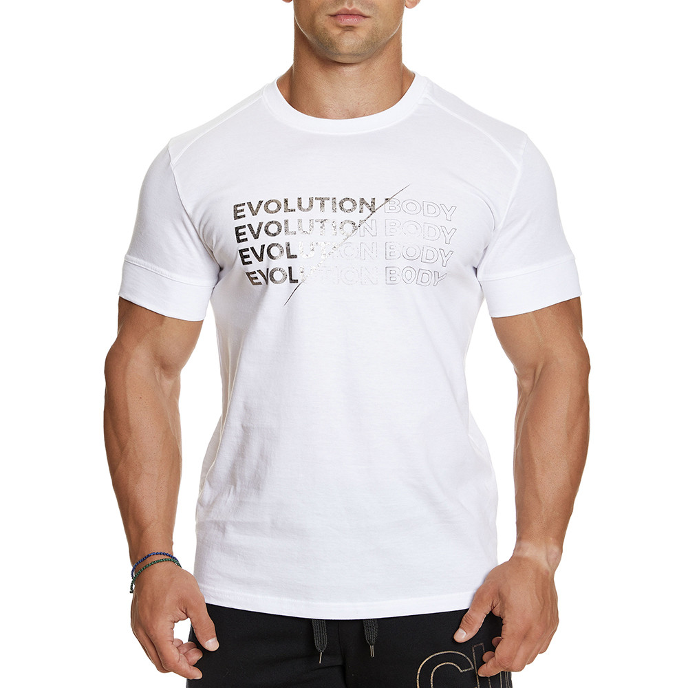 T-shirt Evolution Body Λευκό 2386WHITE