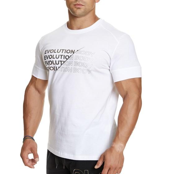 T-shirt Evolution Body Λευκό 2386WHITE