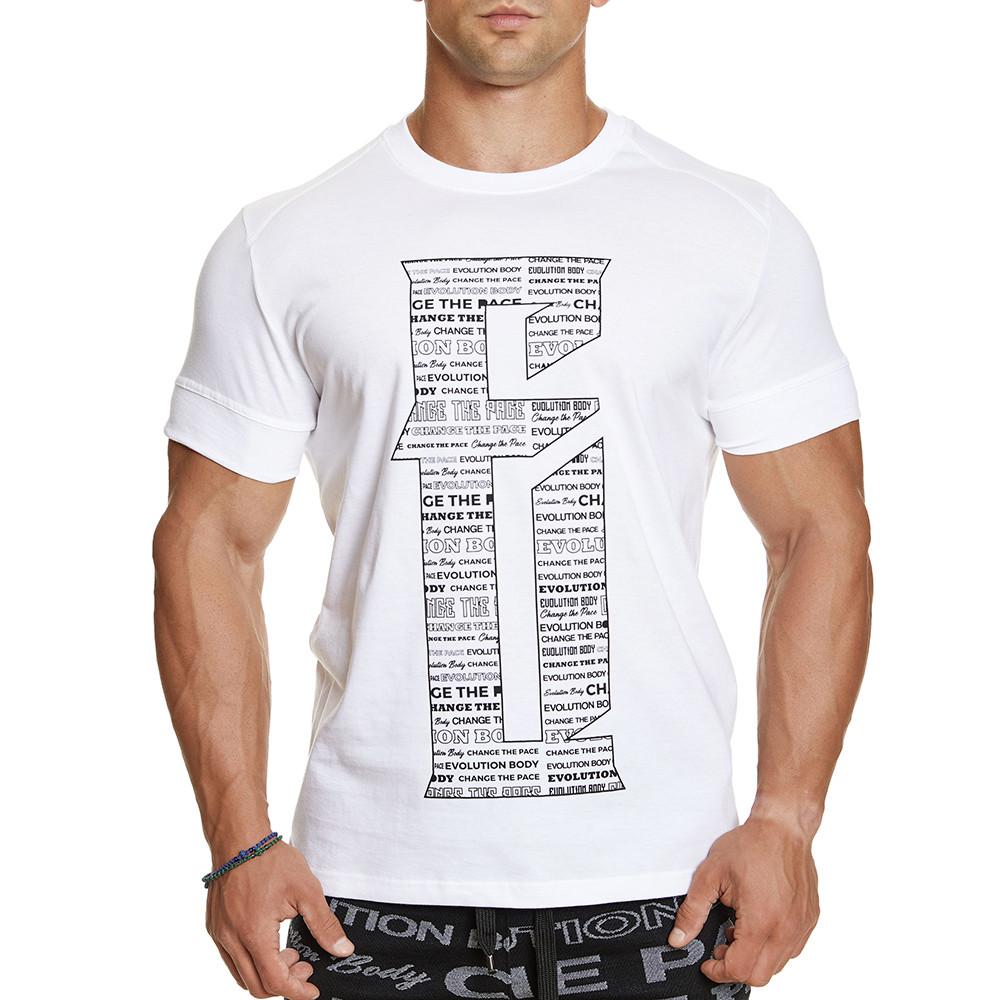 T-shirt Evolution Body Λευκό 2380WHITE