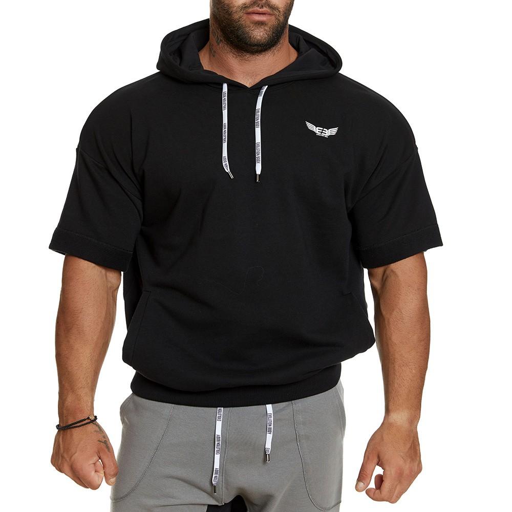 Κοντομάνικη μπλούζα Evolution Body Μαύρο 2394BLACK