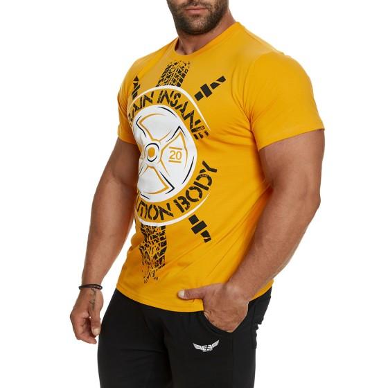 T-shirt Evolution Body Κίτρινο 2404YELLOW
