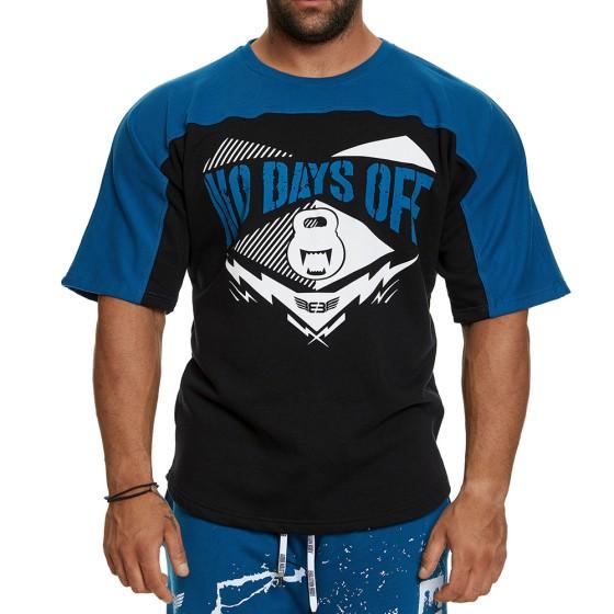 Κοντομάνικη μπλούζα Evolution Body Πετρόλ 2393PETROL